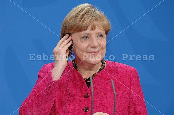Angela Merkel meets Enrico Letta in Berlin