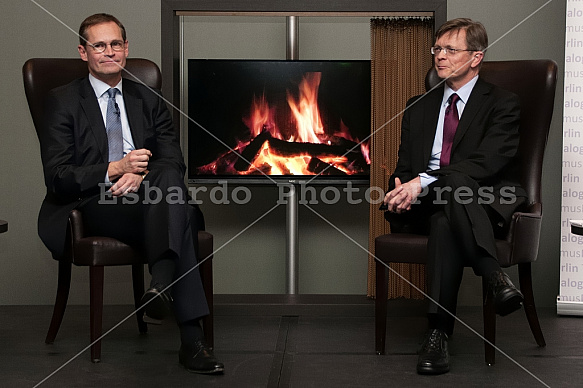 Fireside discussion with the Governing Mayor of Berlin Michael Müller
