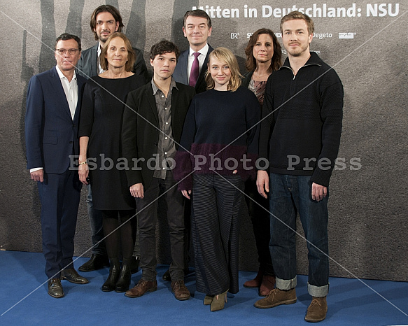 Photocall of ARD Movie: MITTEN IN DEUTSCHLAND: NSU