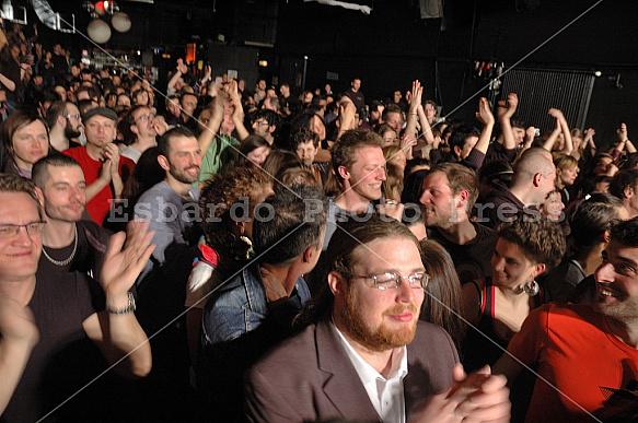 Concert of Subsonica in Berlin