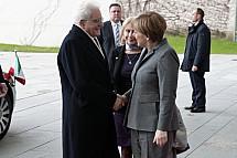 State visit of Mattarella in Berlin