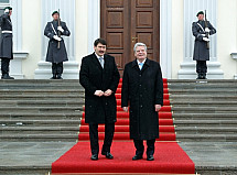 State visit of the President of Hungary János Áder in Berlin