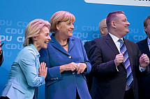CDU celebrates the result in German federal election