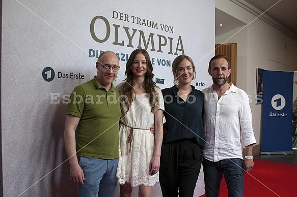 """Photocall of DAS ERSTE Movie: """"Der Traum von Olympia - Die Nazi-Spiele von 1936"""""""