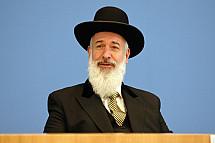 Conferenza stampa del rabbino capo Yona Metzger