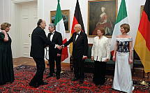 State visit of Napolitano in Berlin
