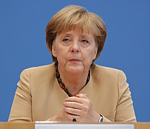 Press conference of Angela Merkel on 17 September 2012