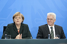 Meeting Of Angela Merkel with the Chefs of the Bundesländer