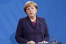 Press Conference between Angela Merkel and Mahmud Abbas