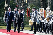 State visit of the President of Malta George Abela in Berlin