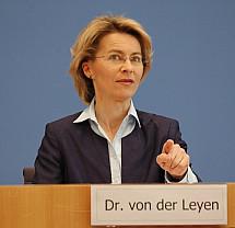 Press conference of Minister Ursula von der Leyen