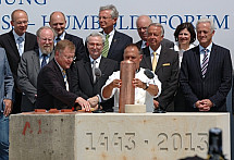 Foundation stone of the Berlin Castle laid