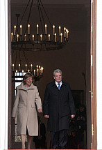 King Philippe and Queen Mathilde of Belgium in Berlin