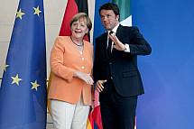 Matteo Renzi in Berlin