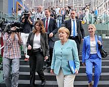 Press conference of Angela Merkel on 19.07.2013