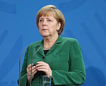 Press conference of Angela Merkel and Rafael Correa Delgado
