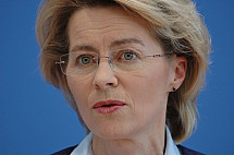 Press conference of Minister Ursula von der Leyen