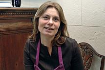 Sarah Wiener cooks at the Italian Embassy in Berlin