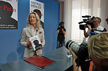 Press conference on the book