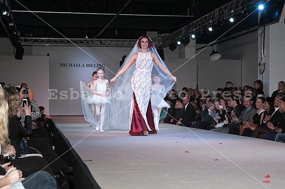 Micaela Schäfer provokes scandal at Berlin Fashion Week