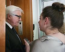 The Federal Minister for Foreign Affairs Frank-Walter Steinmeier meets the VAP association