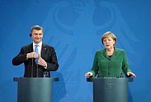 Press Conference with Angela Merkel and Andrus Ansip