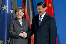 Angela Merkel receives the President of the People's Republic of China Xi Jinping