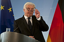 The Federal Minister for Foreign Affairs Frank-Walter Steinmeier meets the VAP association