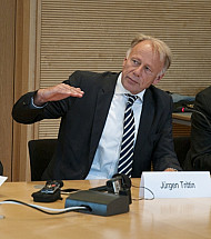 Jürgen Trittin meets the VAP association