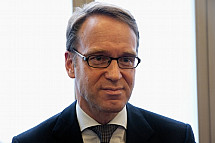 The president of the Deutsche Bundesbank Jens Weidmann meets the VAP association