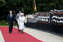 Queen Elizabeth II and Prince Philip visits Germany