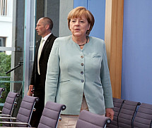 Press conference of Angela Merkel on 19.07.2013