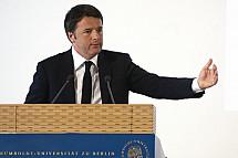Matto Renzi in Berlin