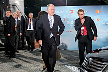 TV- Duel between Angela Merkel and Peer Steinbrück