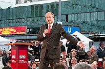 Last speech of Peer Steinbrück before the federal election