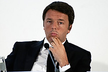 Matto Renzi in Berlin
