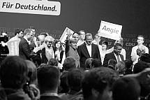 Last speech of Angela Merkel before the federal election