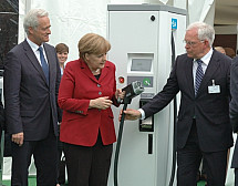 Press conference on the electric mobility in Berlin