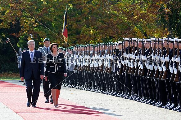 State visit of the President of Kosovo Atifete Jahjaga in Berlin